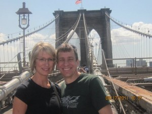 At the Brooklyn Bridge